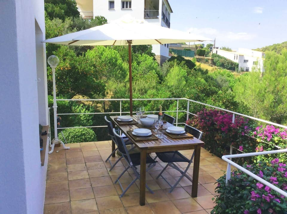 mesa terraza aiguablava