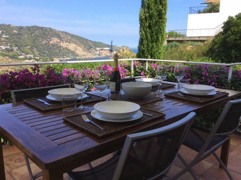 table terrace champagne aiguablava